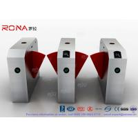 Best 304 Stainless Steel Flap Barrier Gate Door Security Access Control Turnstile Gate Anti-Pinch Card Code wholesale