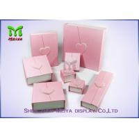 Best Custom Design Printed Pink Red Luxury Large gift box With Ribbon wholesale