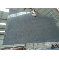 China China Nero Impala Granite Stone Slabs Sesame Black Granite For Bathroom on sale