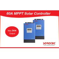 Best Solar energy System 800W / 5200W MPPT Solar Charger Controller 60 - 115VDC wholesale