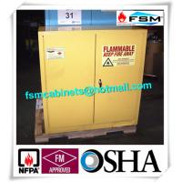 Best Laboratory Industrial Safety Cabinets , Flammable Liquid Chemical Safety Storage Cabinet wholesale