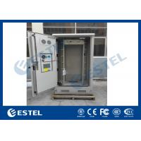 Quality Galvanized Steel Thermostatic Outdoor Telecom Cabinet , Outdoor Electronics Cabinet wholesale