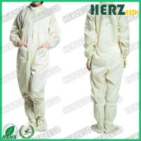 China Unisex Design ESD Protective Clothing / Anti Static Overalls For Electronic Industry on sale