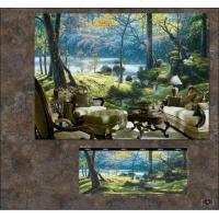 Buy cheap Customised Wallpaper Mural,Chinese Style,3D Wallpaper Mural from wholesalers