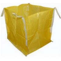 Best Open Top Yellow Big Bag FIBC UV Treated 2200 LBS For Granular Packaging wholesale