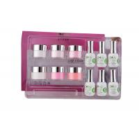 Best Smooth French Dip Kit Non - Yellowing , White And Pink French Nail Art Kit wholesale