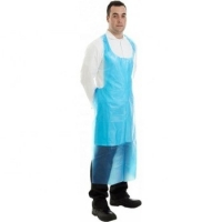 Best Eco Friendly Disposable CPE Plastic Aprons Non Toxic For Restaurant Chef wholesale
