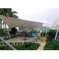 Quality Steelwork Stretching Tensioned Membrane Structures For Playground Sunshade Shed wholesale