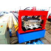 Best High Speed Metal Deck Roll Forming Enquipment Color Steel With PLC System wholesale