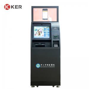 Best Card Dispenser Capacitive 19 Inch Hospital Self Service Kiosk wholesale