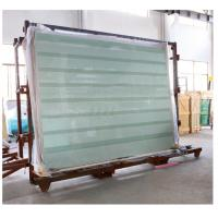 Quality Laminated Glass Panels / Tempered Safety Glass with Printed Stripes or Dots wholesale