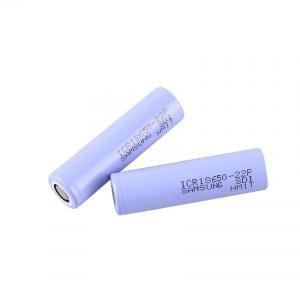 Best Big Capacity 3.6 V 2200mAh Samsung 18650 Lithium Battery wholesale