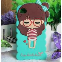 Best Silicone cute cell phone case for APPLE ,phone cover for girl wholesale