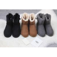 Best 【wechat  cx2801f】ugg female shoes  UGG 1018632 Gray wool ball spot 35-40 wholesale