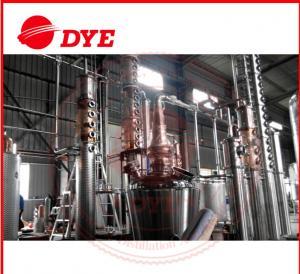 Best 500Gal Stainless Steel Vodka Alcohol Distiller Equipment Commercial wholesale