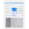 Buy cheap 10 Pressure Control Pulse Aquarius Water Flosser  , Teeth Cleaning Water Jet Brush from wholesalers