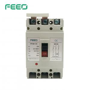 Best Distribution System MCCB PV Solar Panel Dc Circuit Breaker 550V wholesale