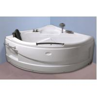 Best Contemporary Electric Corner Whirlpool Bathtub With Lights / Jets 110/220V wholesale