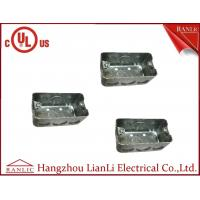 Best UL Approvals Metal Conduit Boxes Galvanised Handy Box 2 inch * 4 Inch wholesale