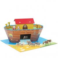 Best Corrugated Cardboard Toys Cardboard Playhouse for Children ENTO005 wholesale