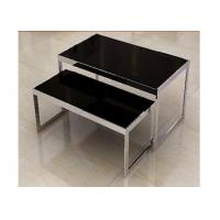 Best Stainless Steel Nesting Display Tables 1200 * 600 * 900MM For Advertisment Exhibition wholesale