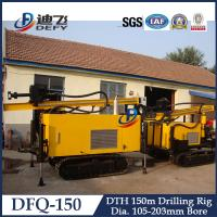 Best Super Power Mounted Crawler Diesel Water Well Drilling Rigs DFQ-150 wholesale