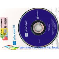 Best 64bit Microsoft Windows 10 Pro OEM Sticker Online Activate Windows 10 Oem Dvd wholesale