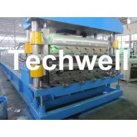 Cheap Double Layer Roof Wall Panel Cold Roll Forming Machine for Two Different Roof for sale