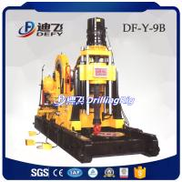 Best DF-Y-9B 4200m portable diamond core drilling rigs for sampling with diesel engine, wire-line diamond rig for sale wholesale