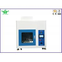 Best Touch Screen Glow Wire Tester / Flammability Testing Machine IEC60695-2-10  10mm/s~25mm/s wholesale