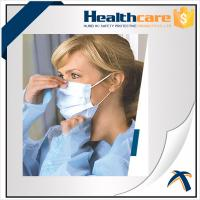 Best Non Woven Disposable Mouth Mask With Elastic Ear Loop For Dental Single Use wholesale