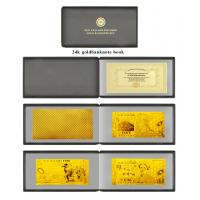 Best Full Sets New Zealand Polymer Gold Foil Banknote Book Set For Promotion Gifts wholesale
