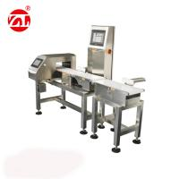 Best Conveyor Belt Weight Checking Machine With Reject Arm / Air Blast / Pneumatic Pusher wholesale