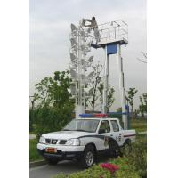 Quality 200Kg And 9m Dual Mast Aerial Work Platform Type Truck-Mounted And Aluminum wholesale