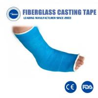 Buy cheap Bone Broken Fixation Casting Tape bandage Good Air Permeability Fiberglass orthopedic fracture casting tape from wholesalers