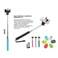 Best 3in1 Handheld Monopod kit Tripod With Shutter Release For mobile phone Android/iPhone wholesale