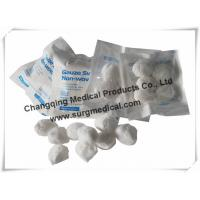 Cheap Round Non woven Gauze Dressing  Balls Absorb For Medical Healthcare Cosmetic wholesale