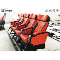 Best Motion 4d Movie Theatre Spray Air , Spray Water , Push Back Fiber Glass Material wholesale