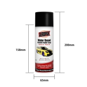Best 65mm 400ml Water Based Peelable Aerosol Rubber Paint wholesale