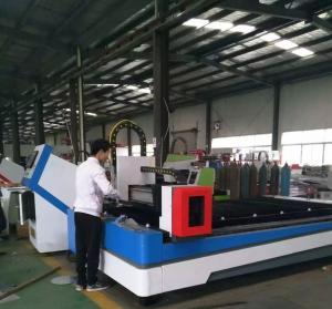 Quality 1000w 1500w 2000w Fiber Laser Cutter Machine For SS / Aluminum / Copper Cutting wholesale