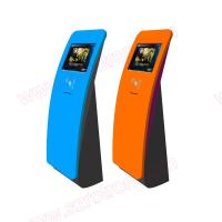 Best Cheap price 19 inch lobby standing alone interactive information touch screen kiosk supplier with Motion Sensor wholesale