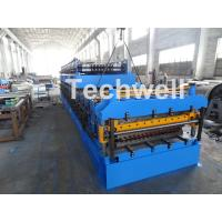 Best IBR / Corrugated Sheets Dual Level Cold Roll Forming Machine With 5 Ton Manual Uncoiler wholesale