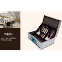 China Aluminium Design Lacking Small Fireproof Cash Box For Money Stable on sale