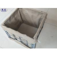 Military Gabion Box Defensive Barriers Steel Wire Material 3 Years Warranty