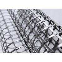 Best Biaxial Geogrid Reinforcing Fabric Square Network For Railways Construction wholesale