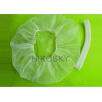 Cheap Disposable Sunless Spray Tanning Accessories, Custom Logo Printed Pleated Cap for sale
