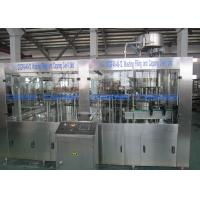Quality Low Temperature Carbonated Drink Filling Machine / Glass Bottle Isobaric Filling Machine wholesale