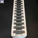 Best Level 4 Square Bulletproof Plates , SSIC Armor Plate Ceramic Tile 50*50 wholesale