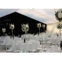 Best High Strength White Waterproof Wedding Event Tents Large A SHAPED Tent For 600 Seater wholesale