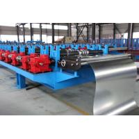 Quality 0-35m/min Roof Sheet Bending Machine , Roof Roll Forming Machine By chain wholesale